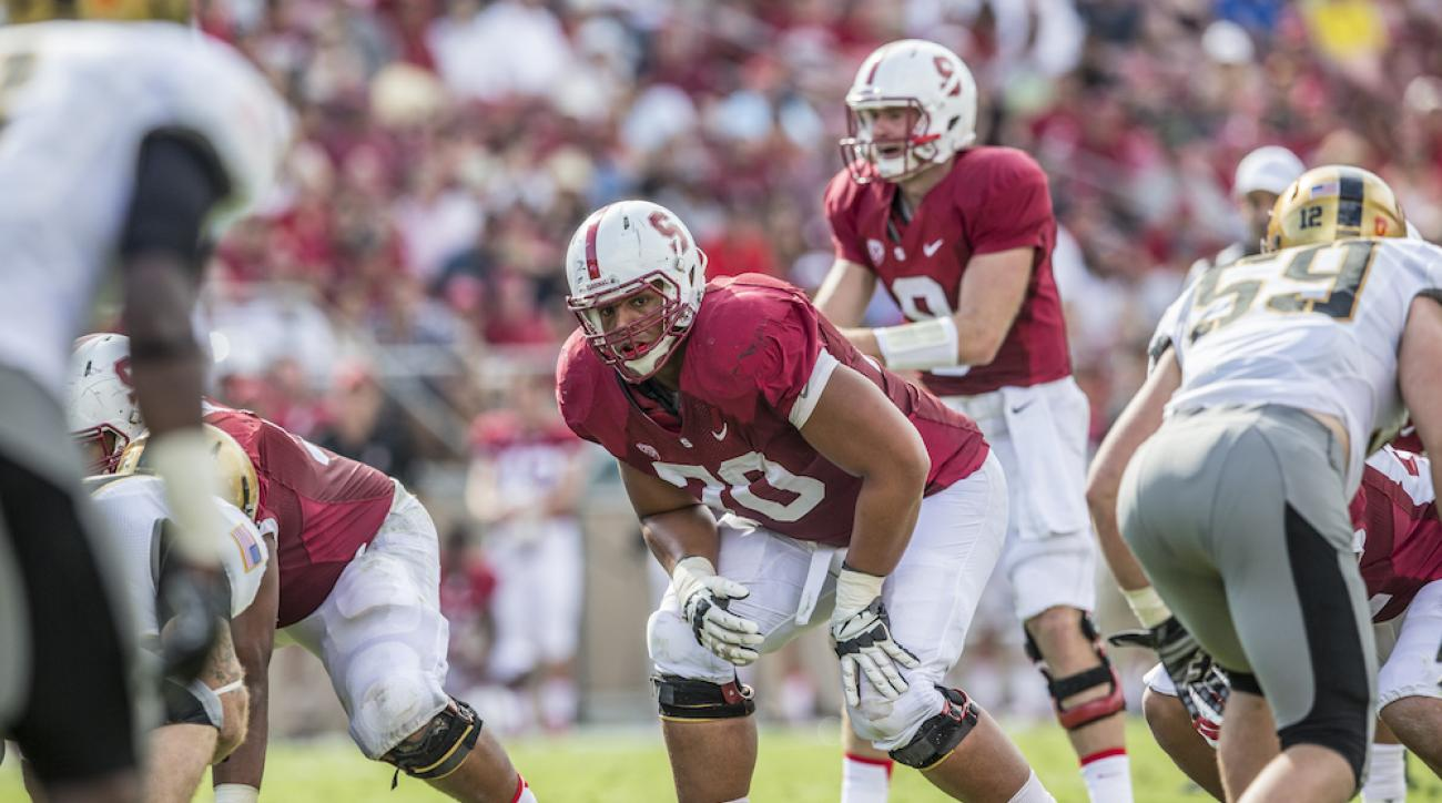 Stanford left tackle Andrus Peat has declared for the 2015 NFL Draft.