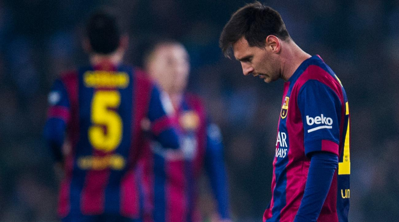 After a strong start to the season, there's a crisis brewing at Barcelona.