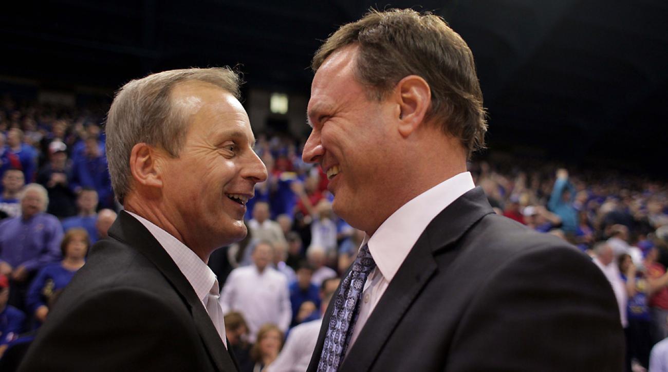 Rick Barnes and Bill Self