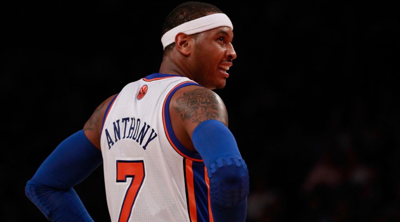 Carmelo Anthony trust Phil Jackson new york knicks