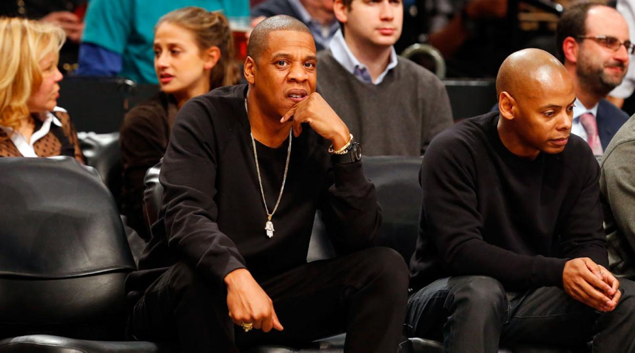 The Brooklyn Nets quoted Jay-Z in a response to a fan's question about Tinder night.