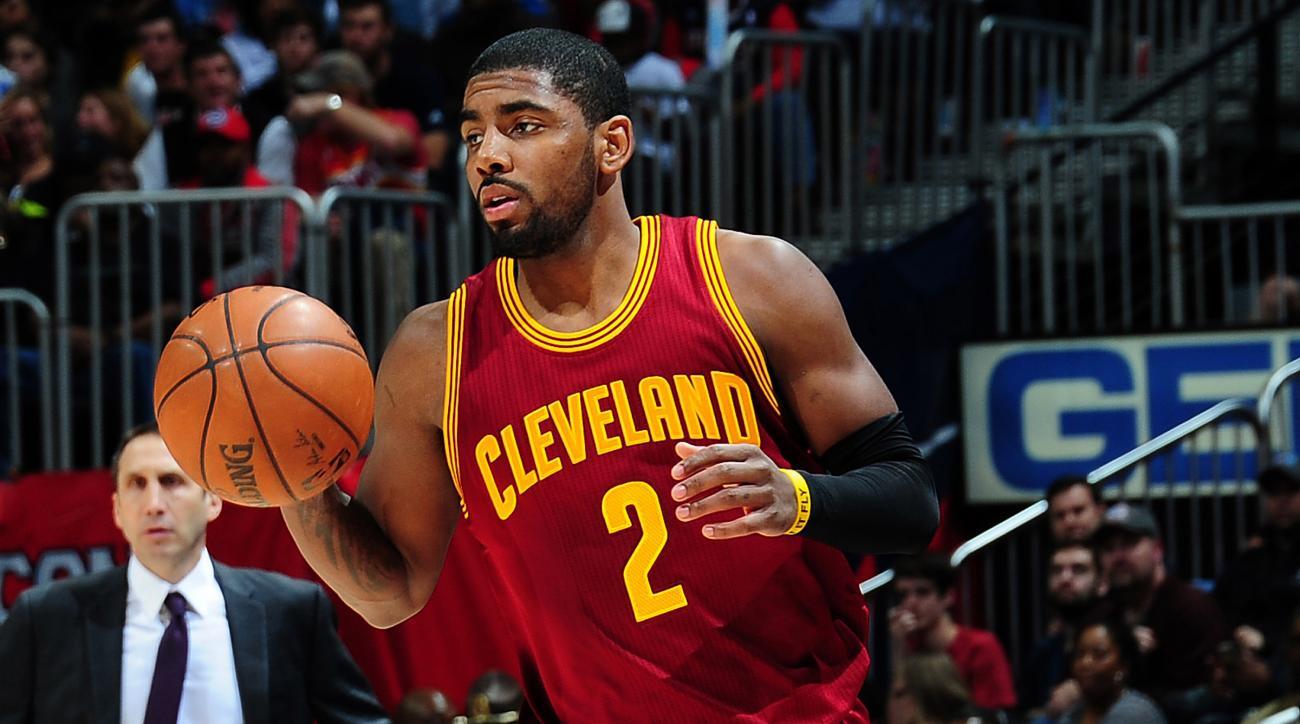 Cavaliers' Kyrie Irving back injury