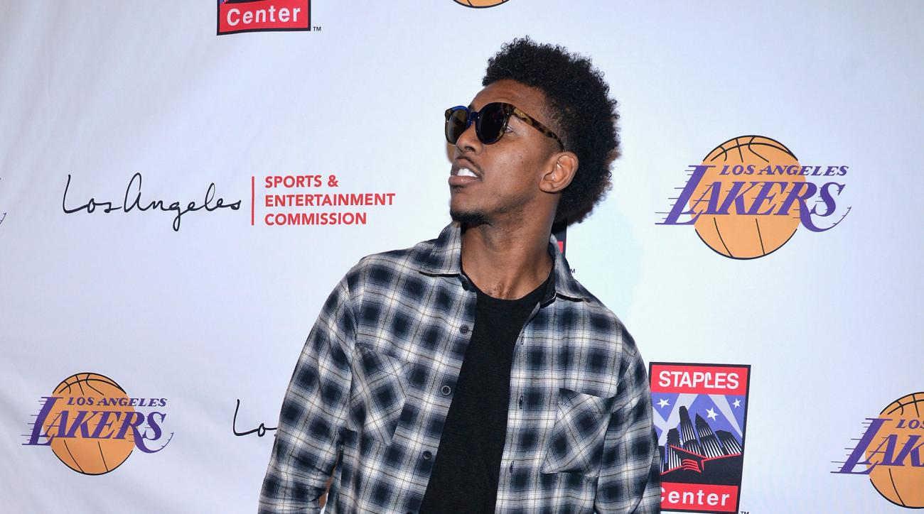 Lakers' Nick Young Swaggy P nickname