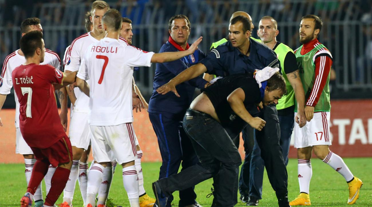 Albania and Serbia are appealing UEFA sanctions to the Court of Arbitration for Sport.
