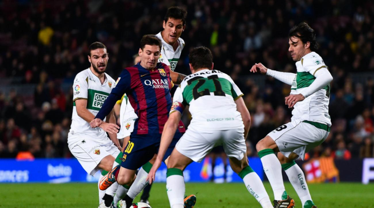 Barcelona vs Elche copa del rey