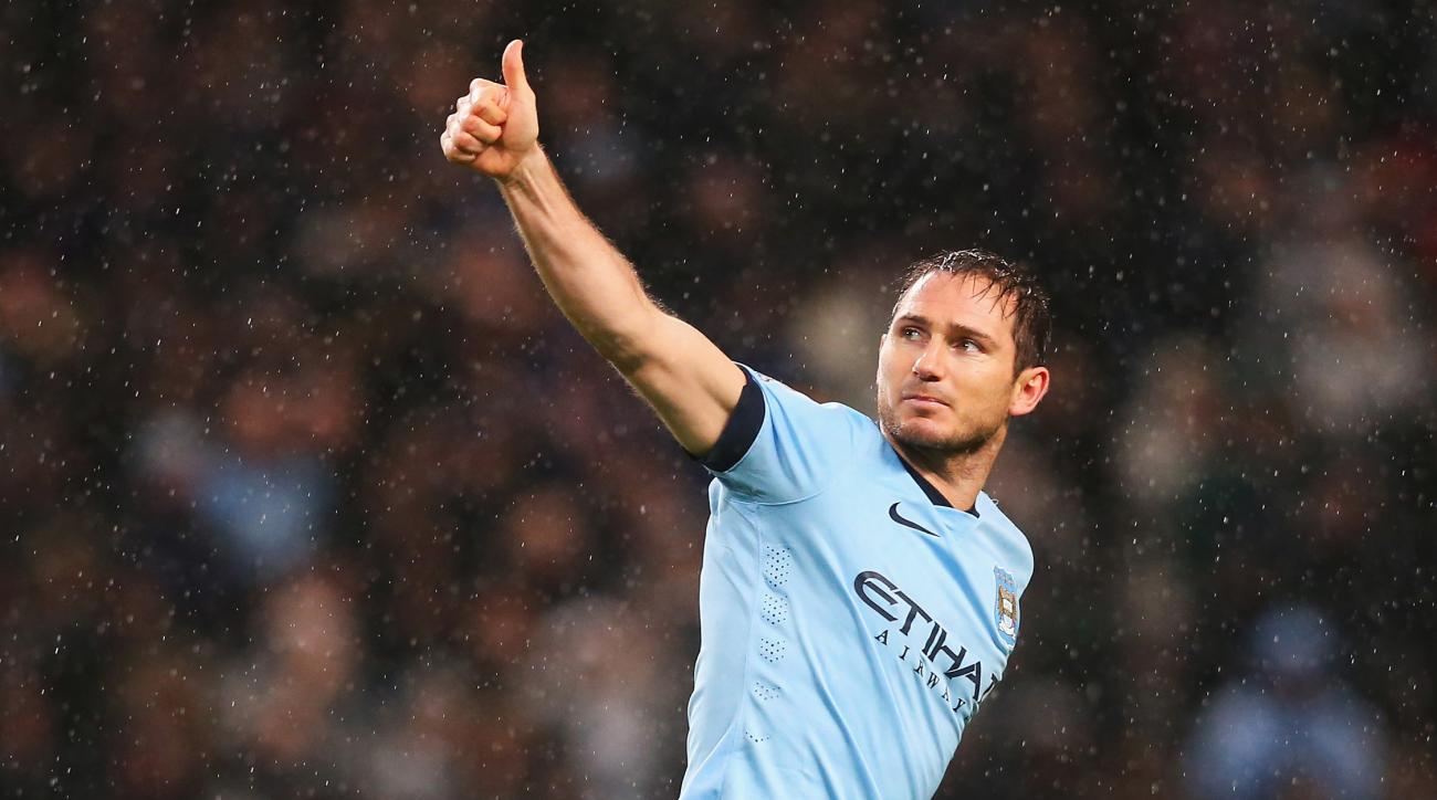 Manchester City Frank Lampard NYCFC