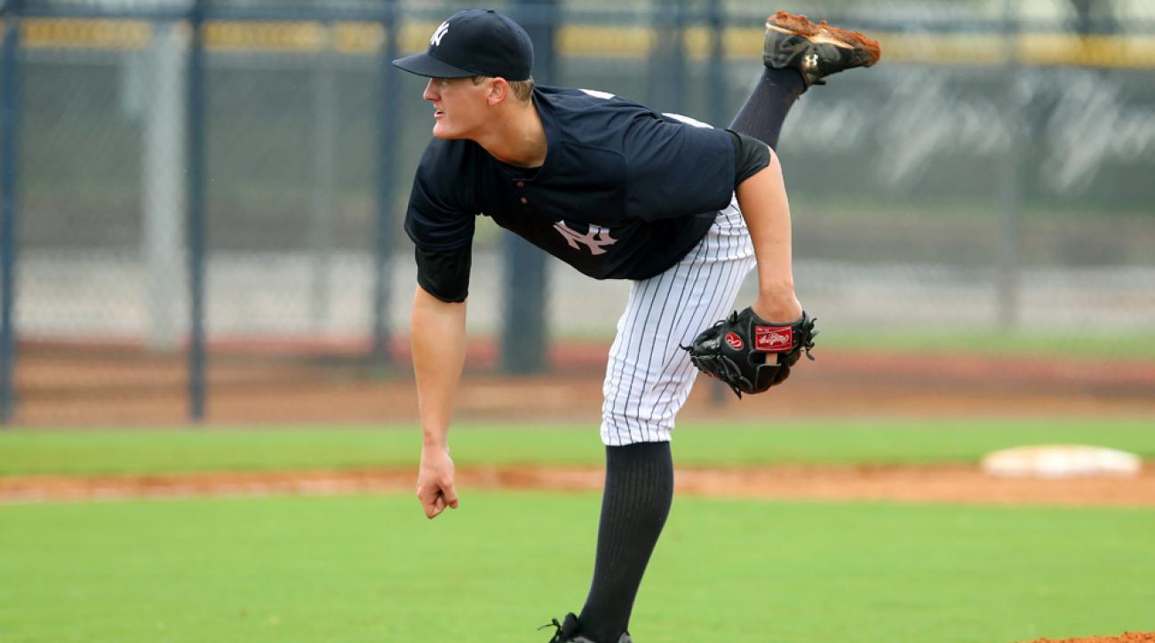 Ty Hensley Yankees prospect