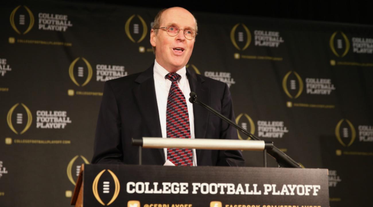 College Football Playoff's Bill Hancock