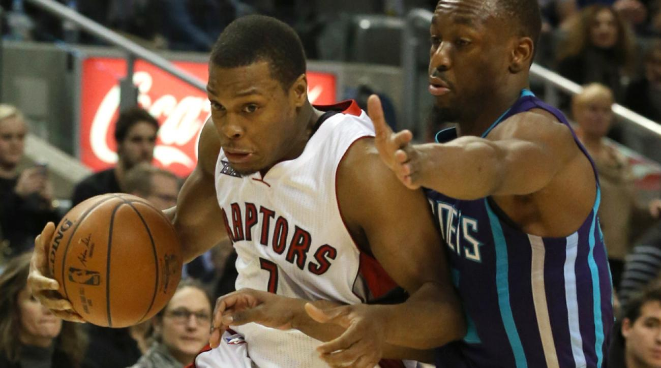 Raptors TV announcer shamelessly plugged Kyle Lowry's All-Star candidacy throughout Thursday's game.
