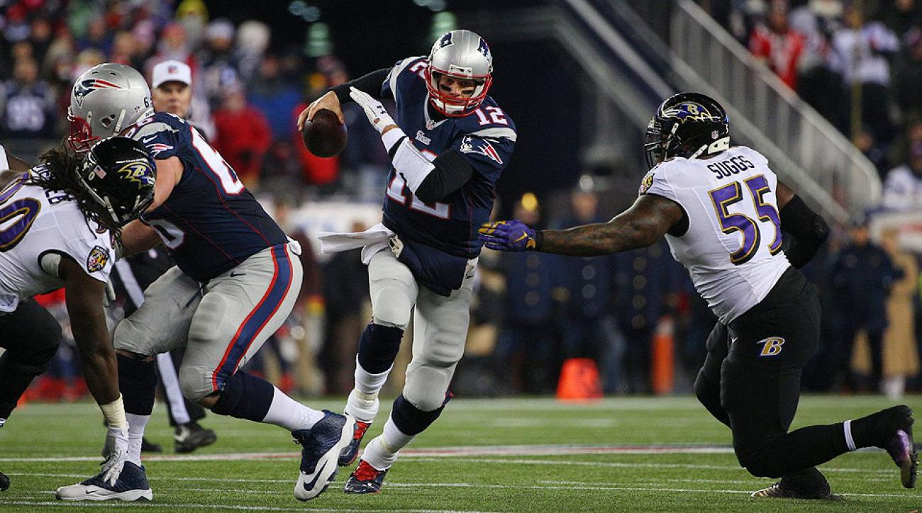2015 NFL Playoffs: Tom Brady, New England Patriots edge Baltimore Ravens