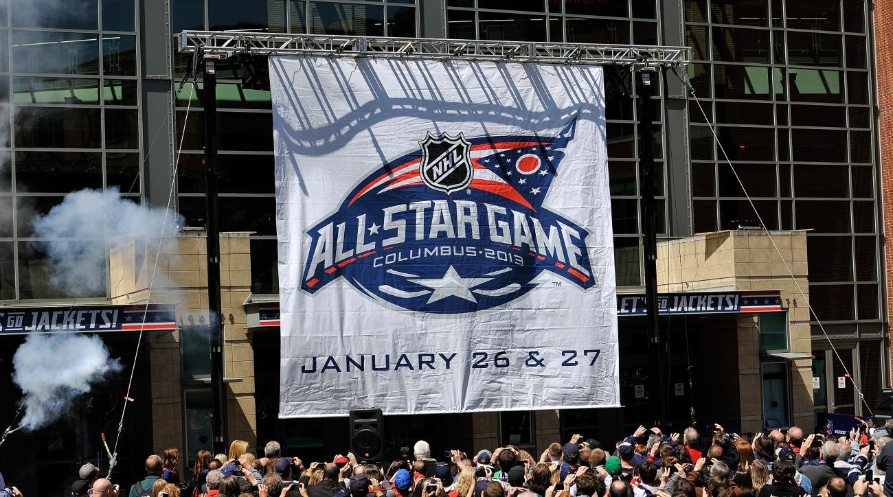 NHL all-star game roster announced