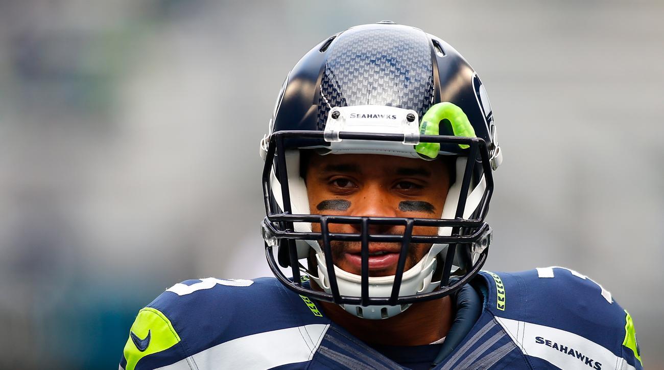 Russell Wilson Seattle Seahawks highest paid quarterback nfl