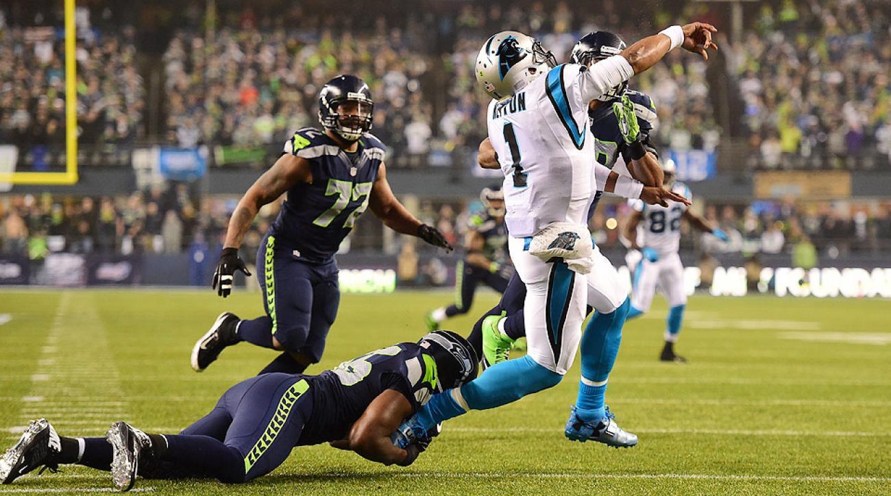 Seattle Seahawks beat Carolina Panthers, eye repeat in Super Bowl XLIX