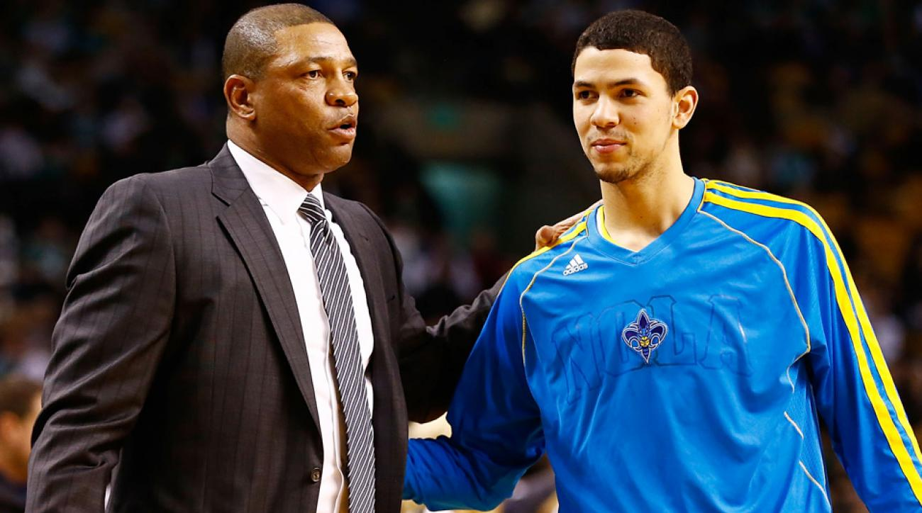 Clippers coach Doc Rivers said he was open to coaching his son, Austin.