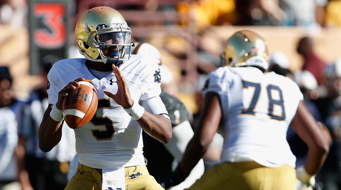 Notre Dame Everett Golson transfer rumors