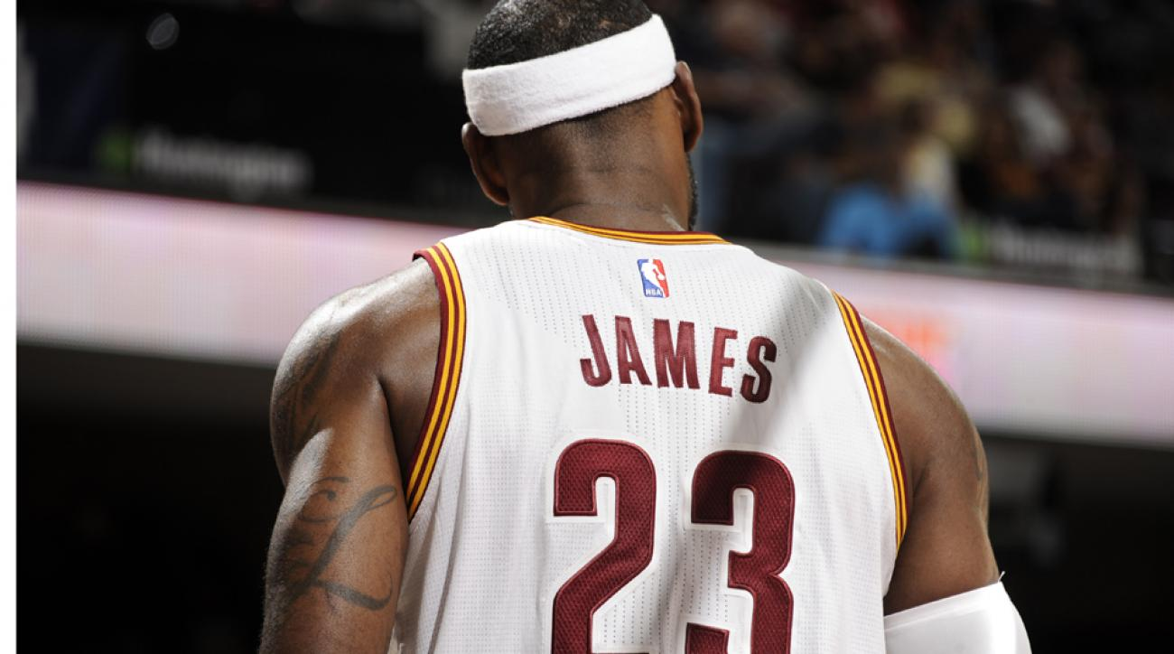 LeBron James leads jersey sales