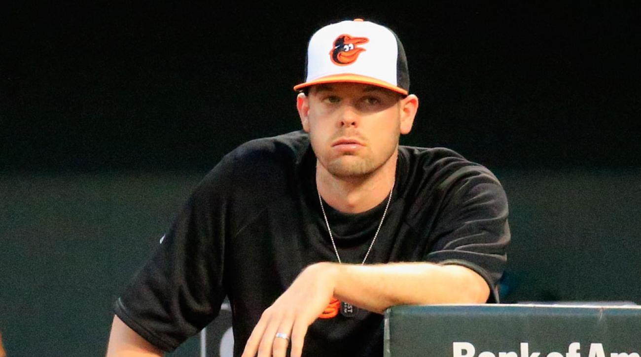 Baltimore Orioles Matt Wieters