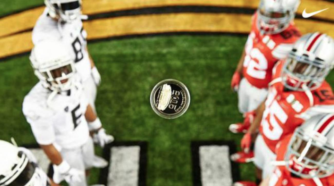 Nike coin flip photo
