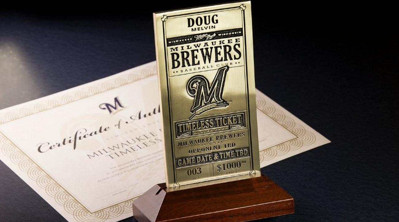 Brewers offering fans a Timeless ticket