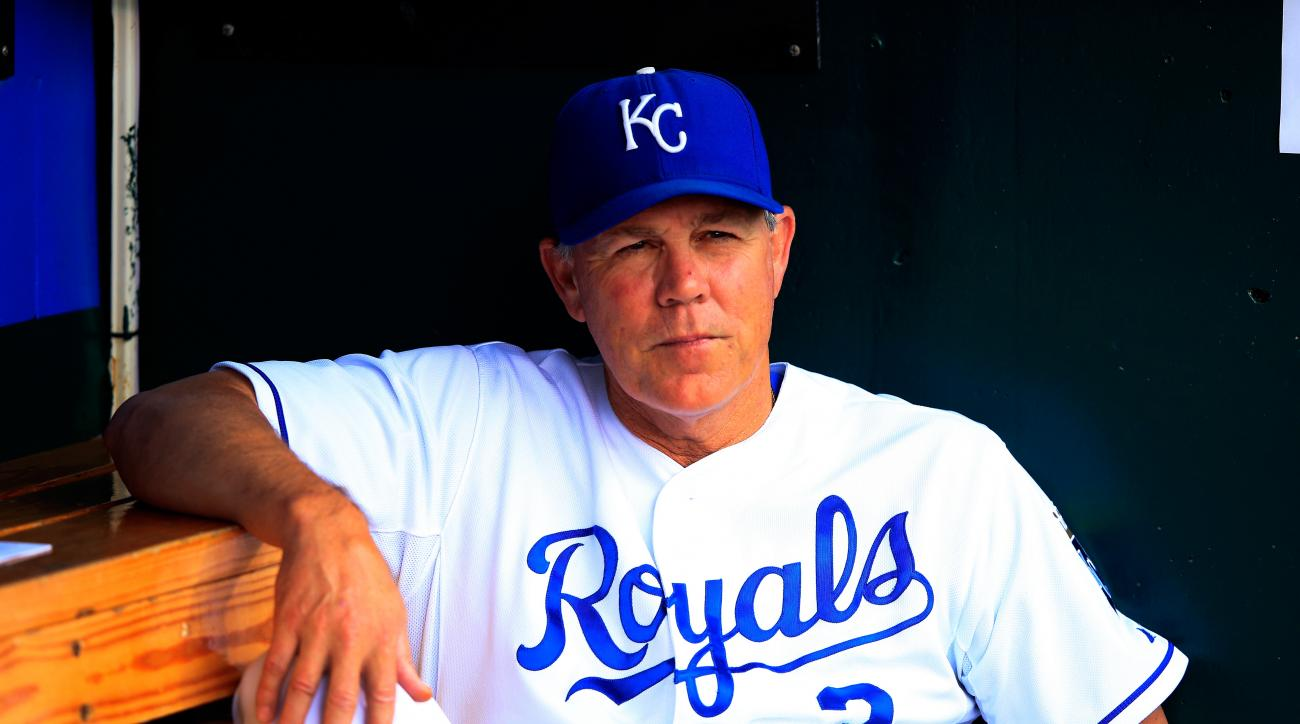 ned yost kansas city royals contract extension deer stand