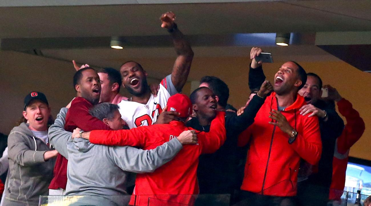 ohio state buckeyes win national championship celebrites congratulate