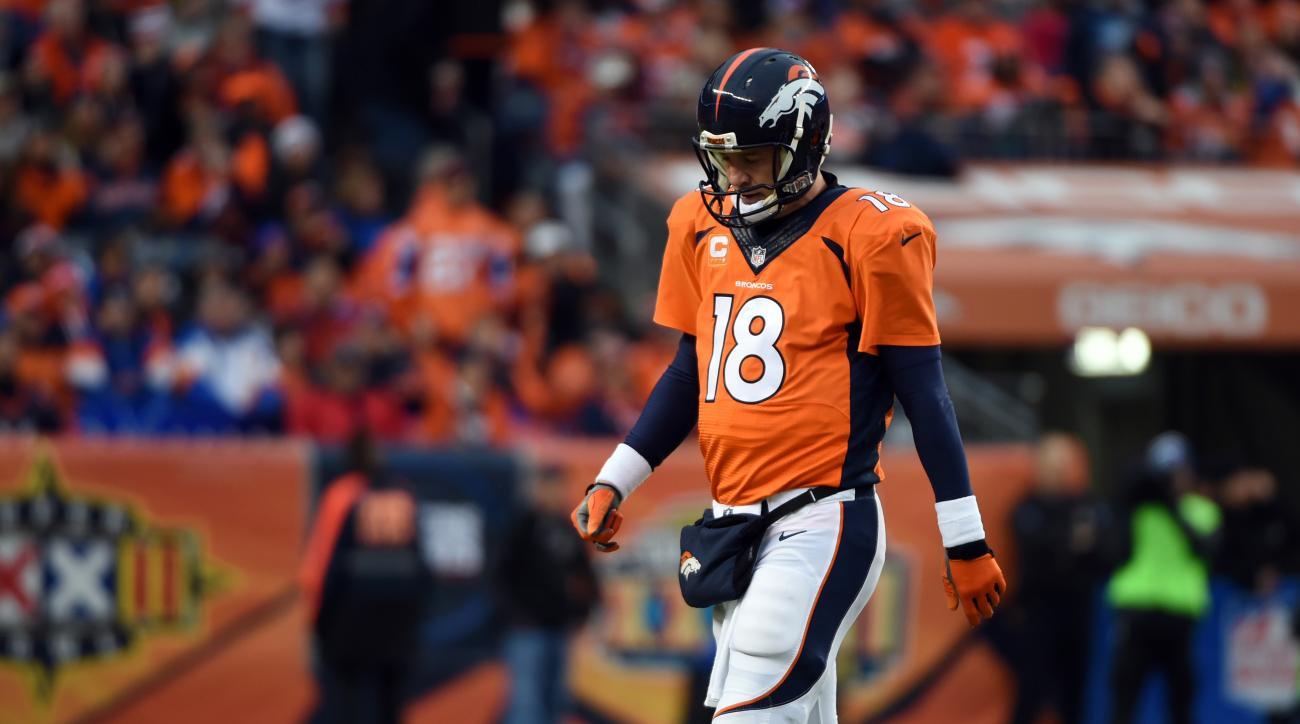 Broncos Peyton Manning return
