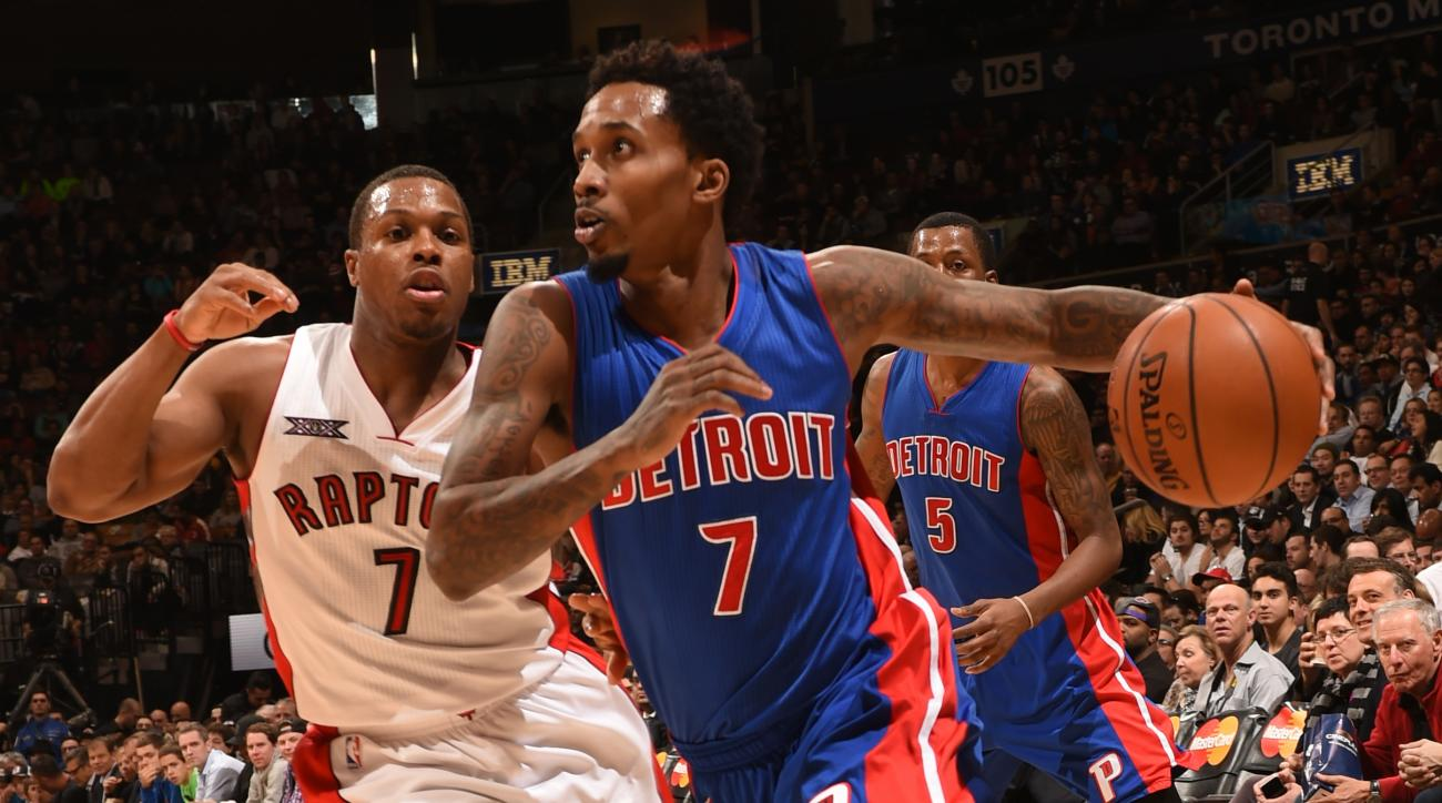Pistons' Brandon Jennings fined