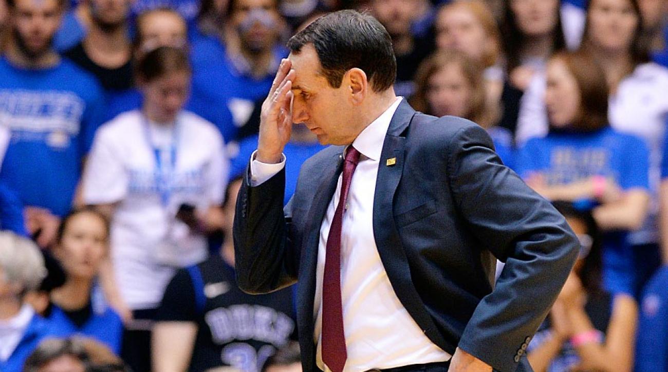 Duke falls to Miami Coach K home winning streak