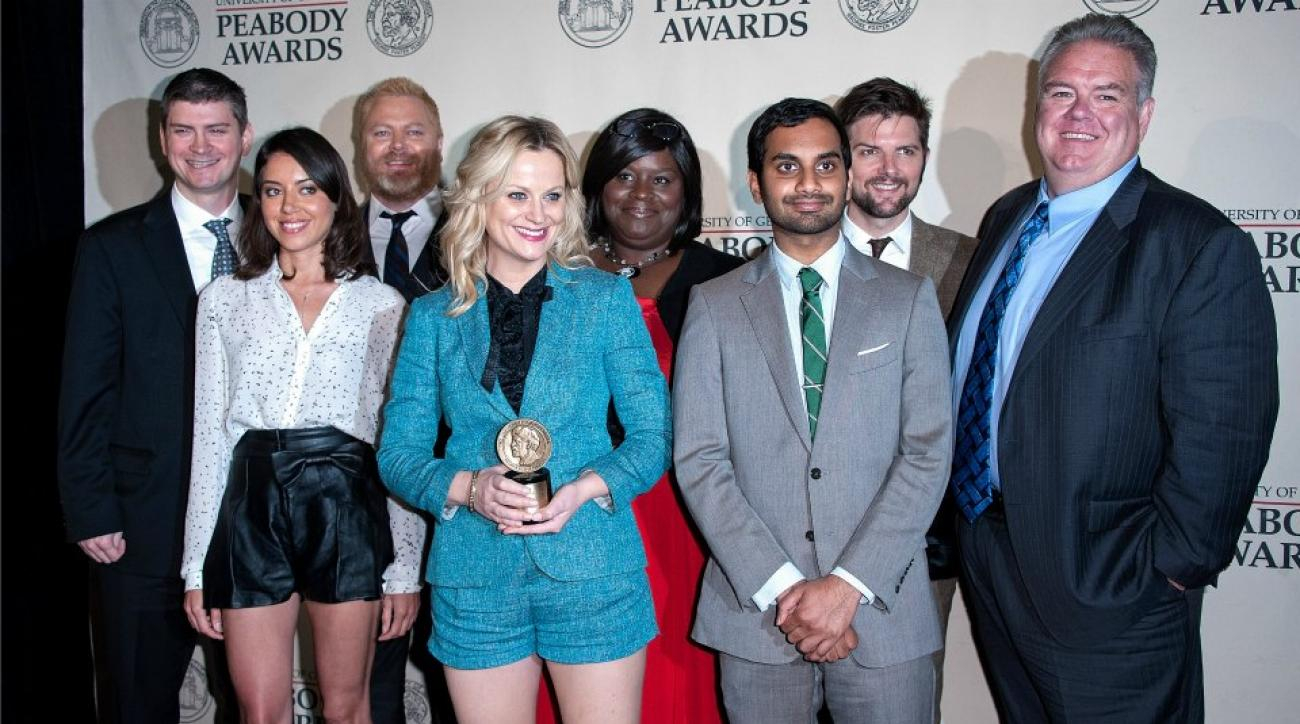 Parks and Recreation premiere includes Sabermetric easter egg