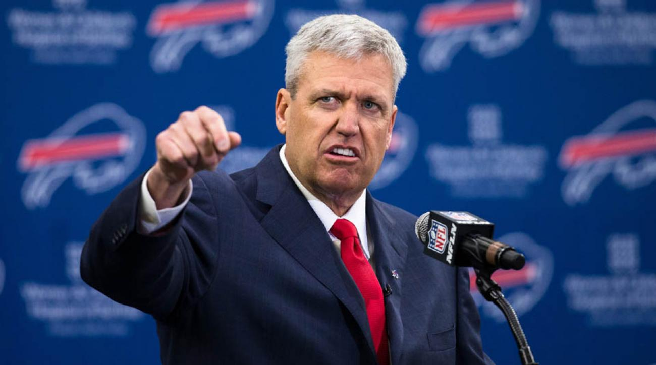 Fred Jackson says new Buffalo Bills coach Rex Ryan needs to beat the Patriots to be successful.