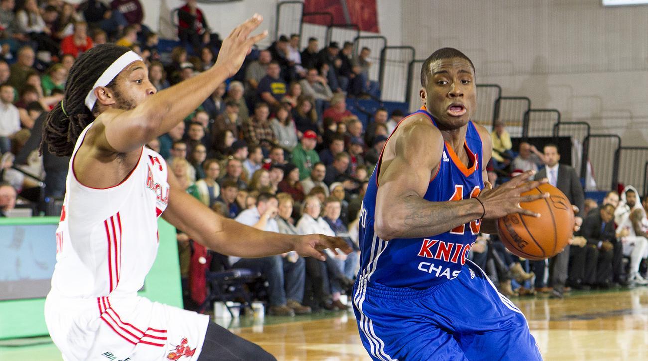 Knicks Thanasis Antetokounmpo call up