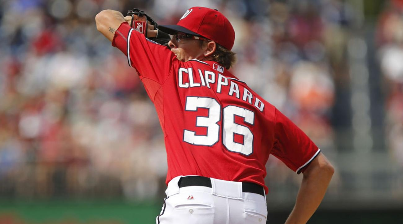 Tyler Clippard was traded to the A's, and Washington Nationals pitcher Drew Storen reacted by tweeting out an Old School clip.