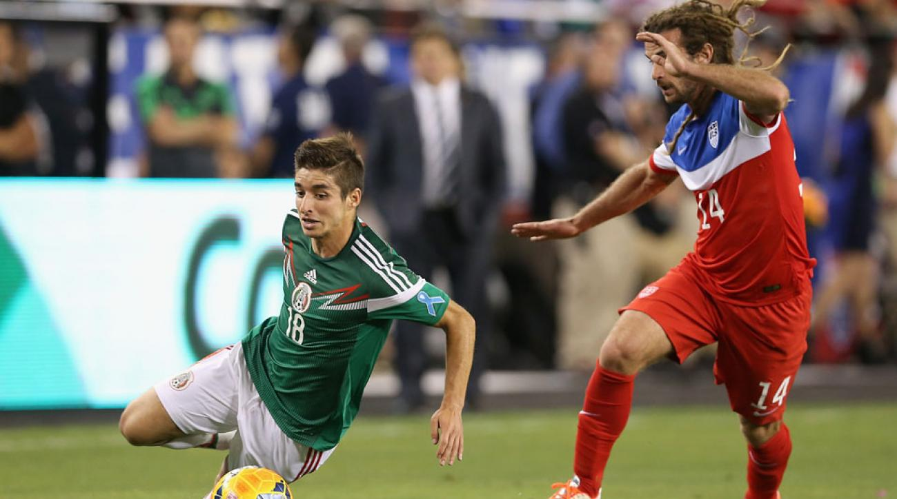 The U.S. will meet Mexico in an April friendly.