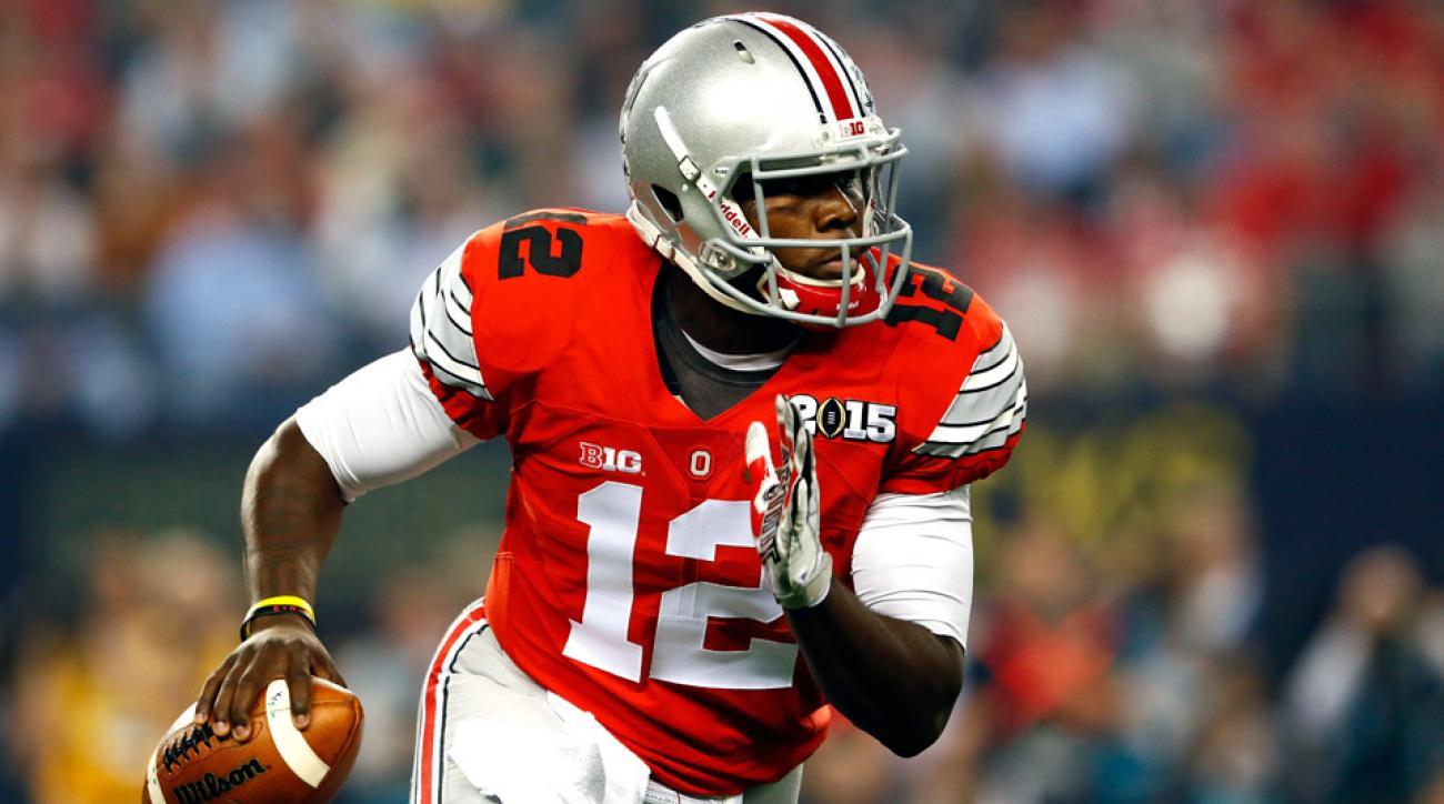Cardale Jones should return to Ohio State, Donovan McNabb says.