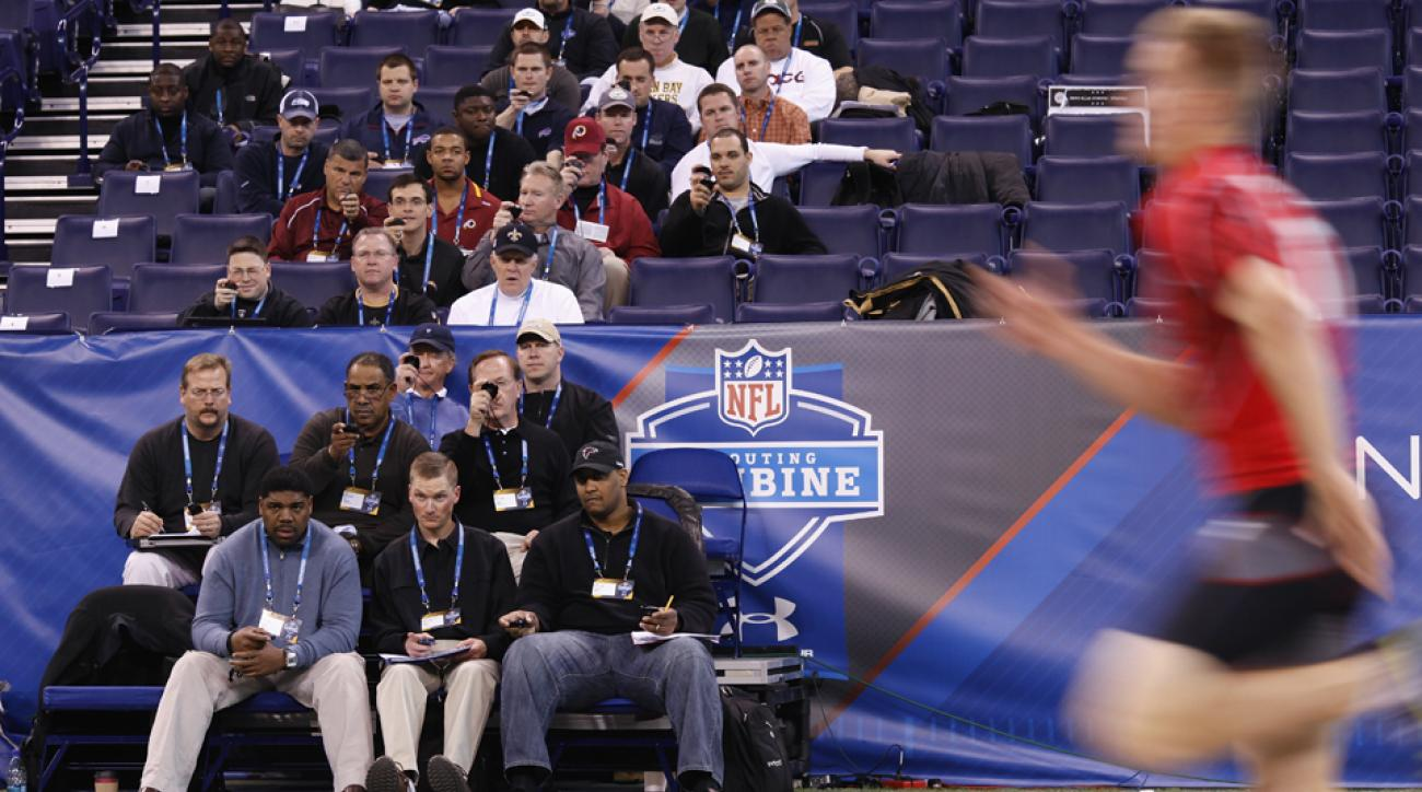 nfl free agents veteran scouting combine