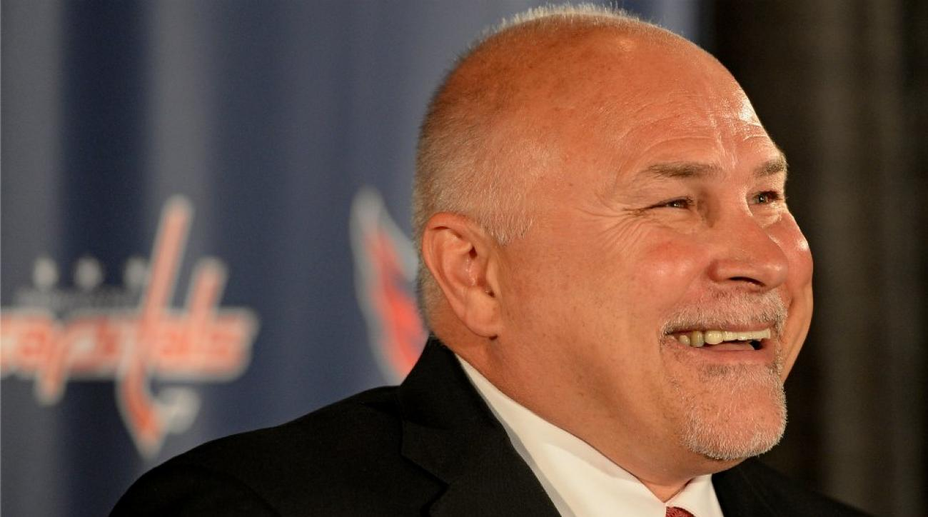 Capitals' Barry Trotz painted house numbers during NHL lockout