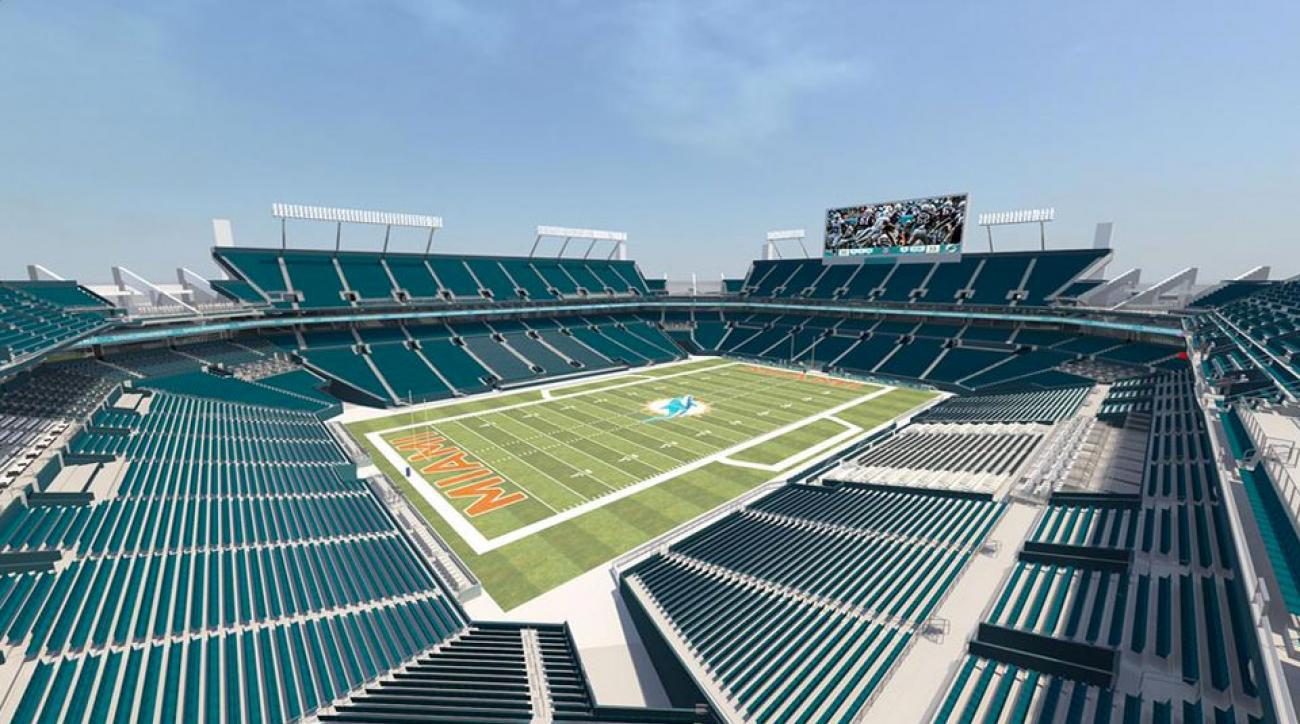Miami Dolphins stadium renovations