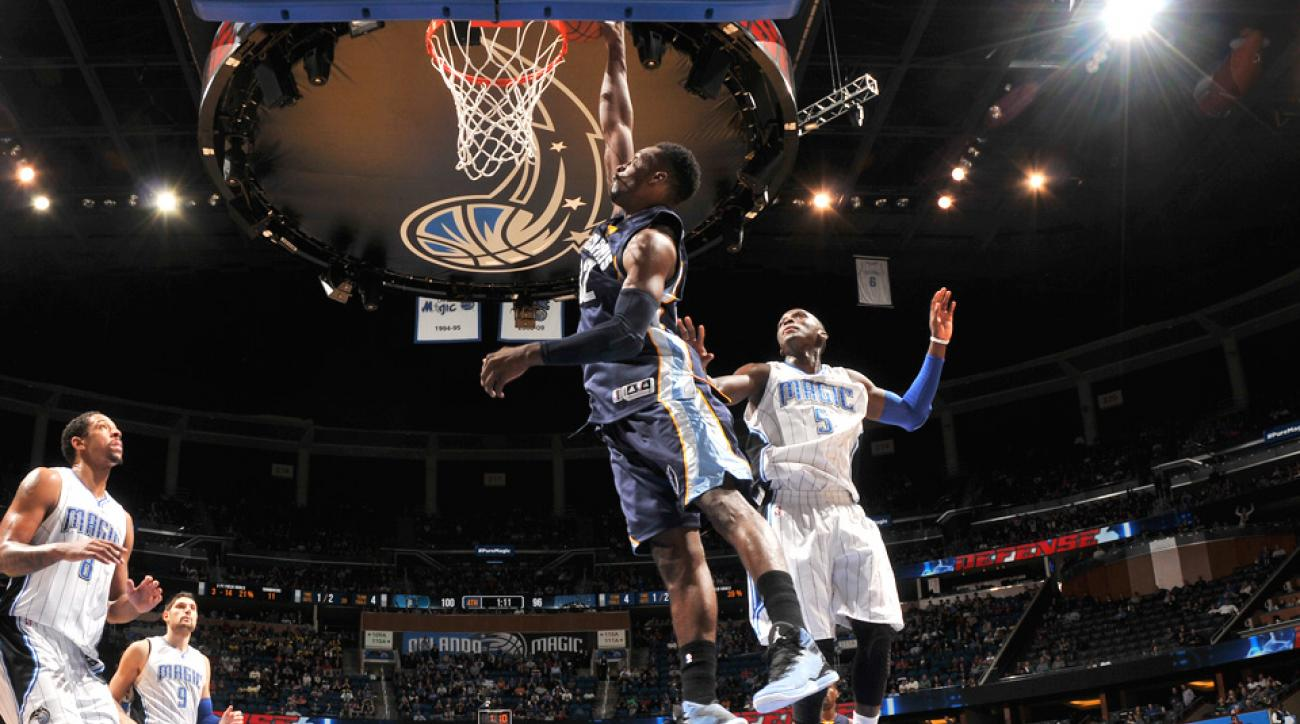 Grizzlies forward Jeff Green threw down a monster dunk against the Magic.