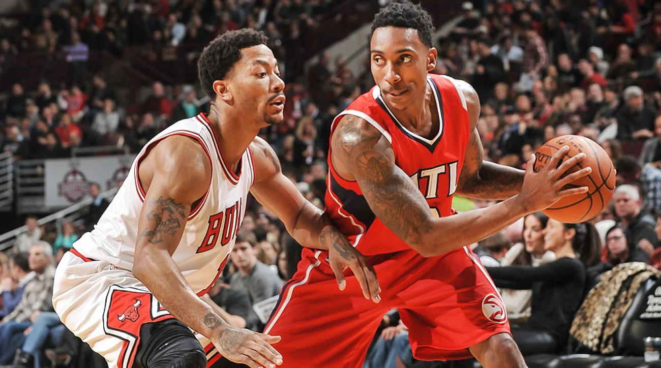 The Hawks exposed the Bulls' defense in their 107-99 win on Saturday night.