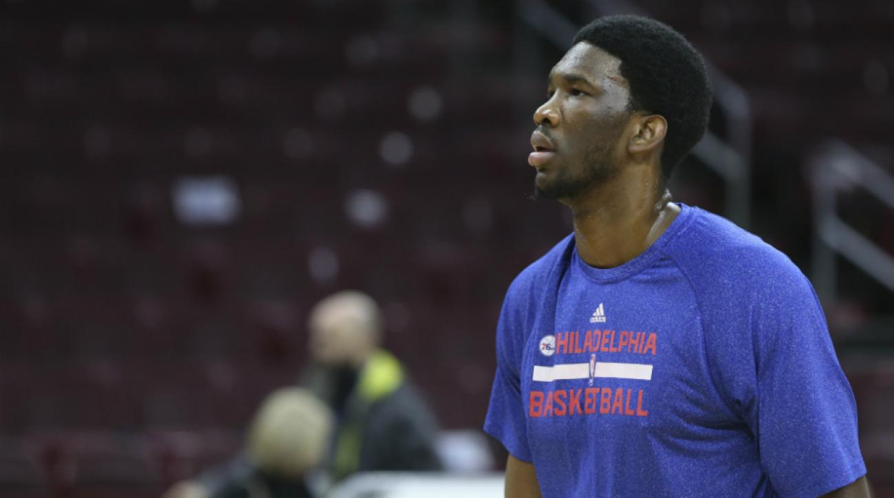 76ers concerned with Joel Embiid