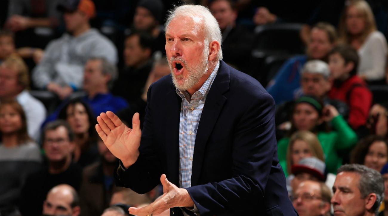 Spurs coach Gregg Popovich drops triangle knowledge