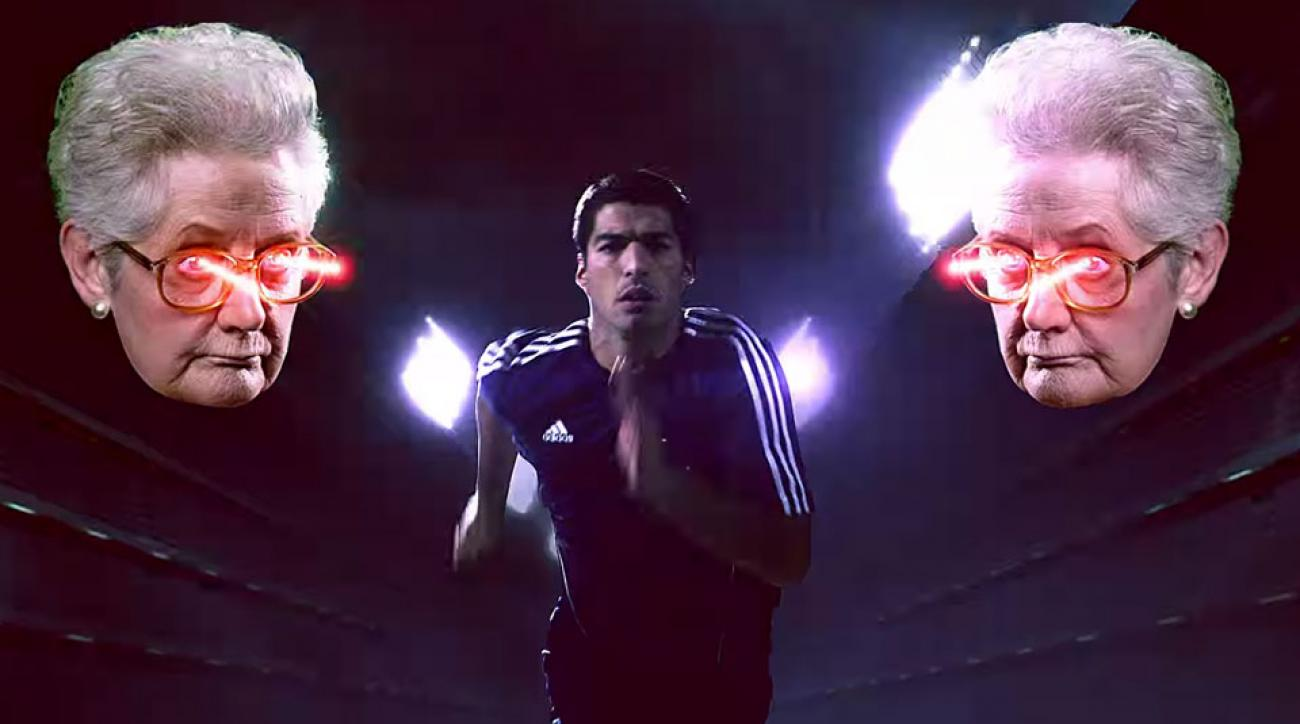 New adidas commercial Luis Suarez