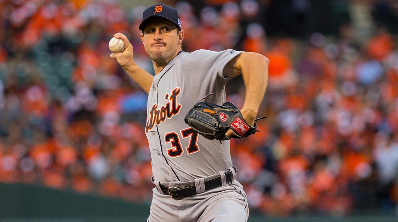 Max Scherzer, Tigers