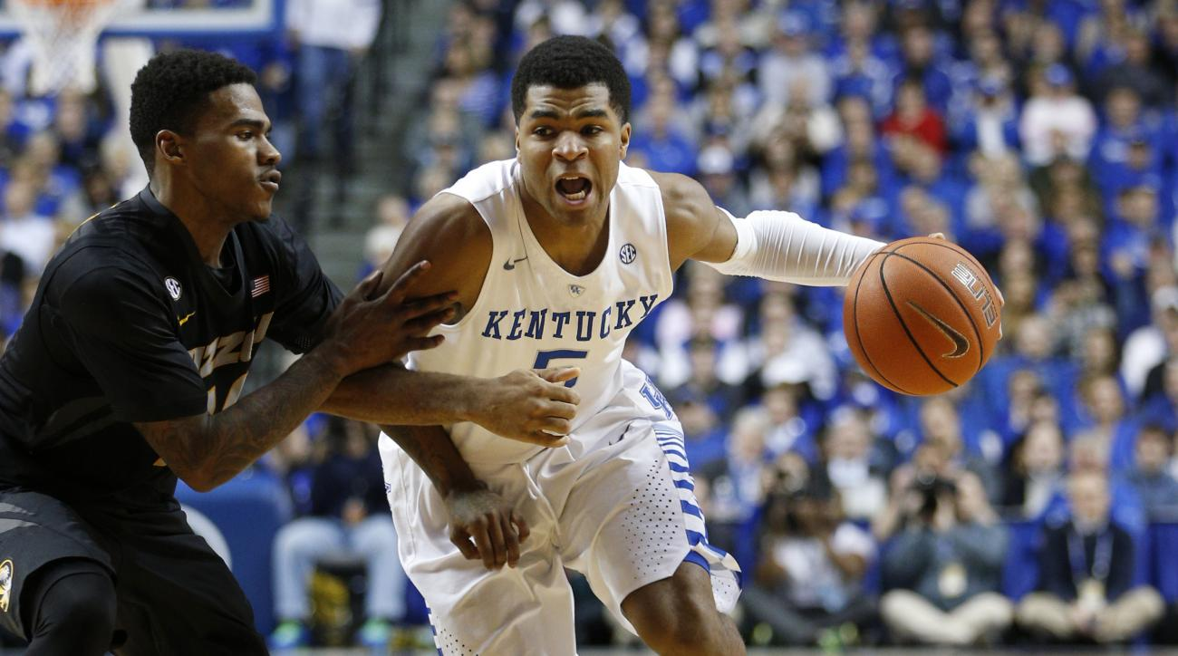 Kentucky top 25 poll, Duke, Virginia