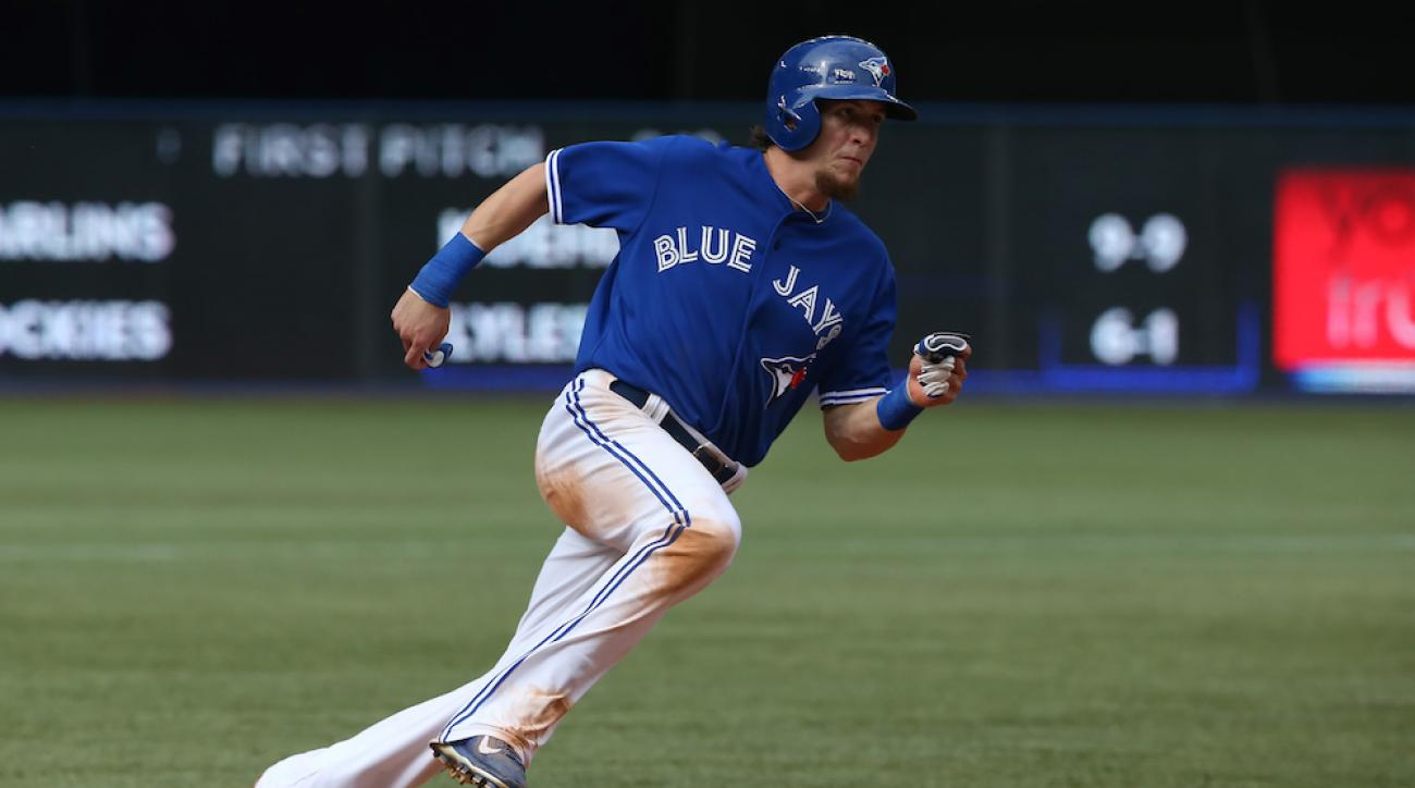 Colby Rasmus signed with the Houston Astros on Tuesday. He was previously with the Toronto Blue Jays.