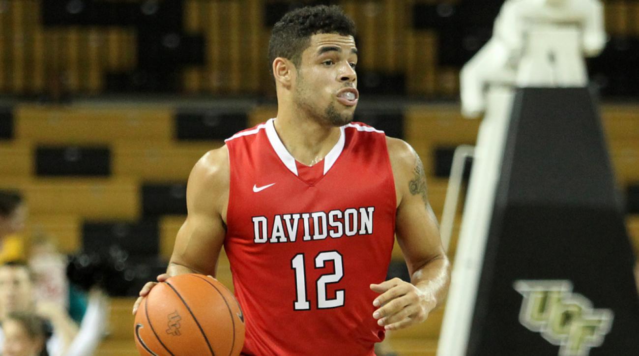 Davidson guard Jack Gibbs