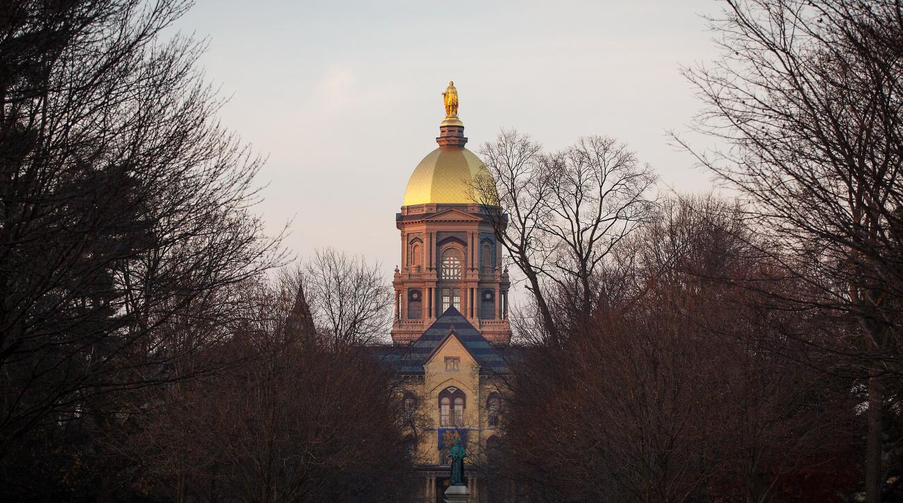 notre dame espn lawsuit police records athletes