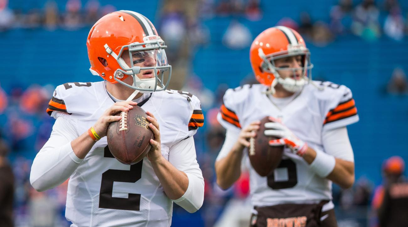 Browns Johnny Manziel Brian Hoyer