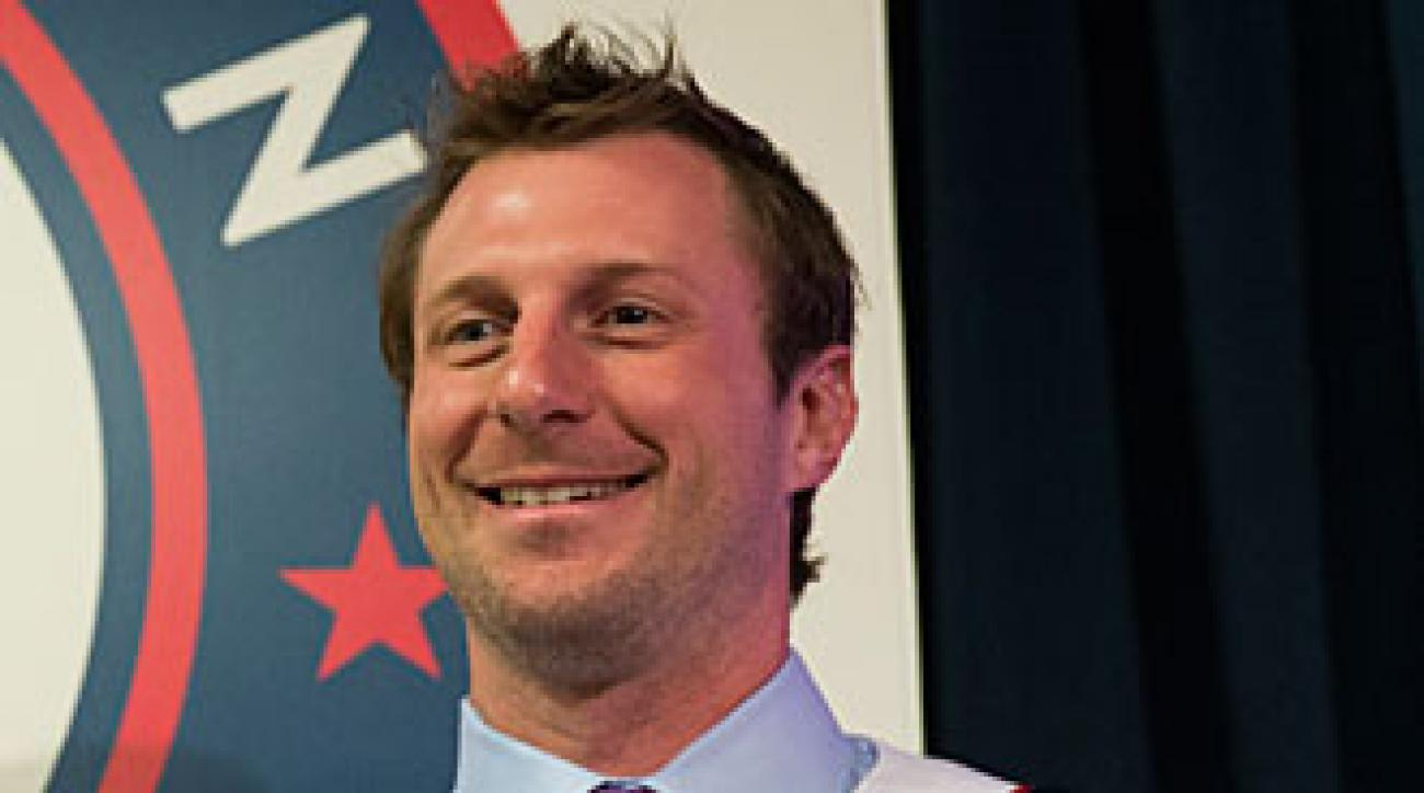 Max Scherzer had reason to smile after signing the biggest free-agent contract ever by a pitcher.