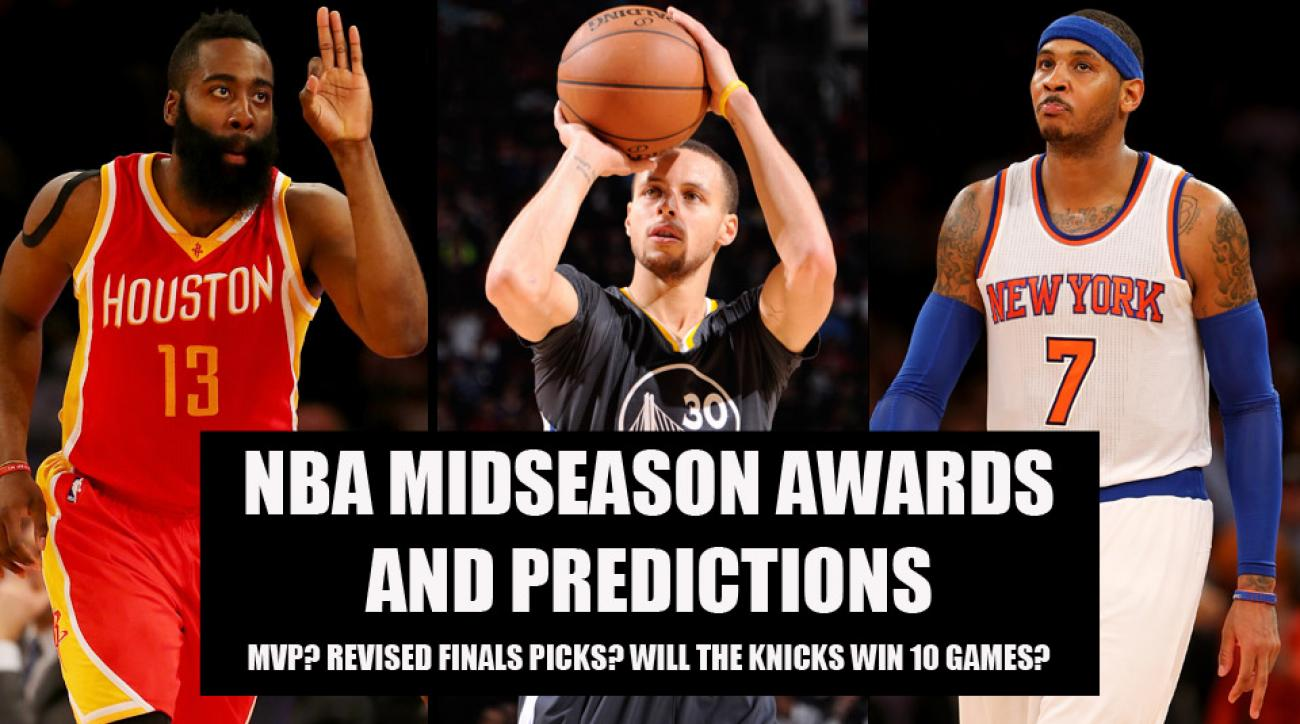 NBA midseason awards